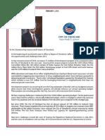 2016 Mayor's Letter of Transmittal