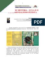 Resenha sobre o livro do Lula