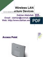 Wifi 2 Infrastruktur Wireless LAN