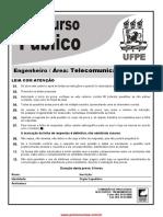 Prova do concurso da UFPE Engenheiro de Telecomunicações 2015