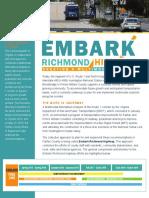 Embark Route 1 Fact Sheet