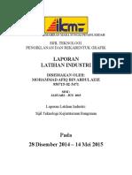 Laporan Latihan Industri (Complete)