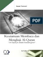 At-tibyan Fi Adab Hamalat Al-qur'an - Imam Nawawi