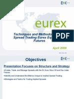 Eurex Equity Spreading Tactics