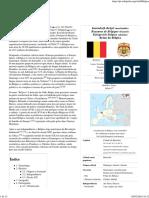 Bélgica – Wikipédia, A Enciclopédia Livre