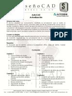 AutoCAD Actualización