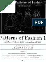 Arnold Janet Patterns of Fashion 1660 1860