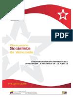 Observatorio Socialista N°12. Pueblos Indígenas de Venezuela