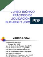 Curso teórico-práctico de Liquidacion de Sueldos y Jornales