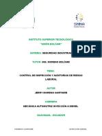 Auditorías de Los Sistemas de Prevención de Riesgos Laborales