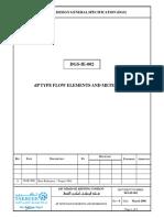 DGS-IE-002-R0 DP Type Flow Elements and Meter Runs