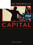 The Sublime Perversion of Capital by Gavin Walker