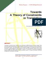Constraints 0.1