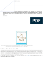 On Writing Well – William Zinsser