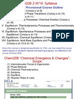 Lecture I-1 Syllabus Chem20B-2 W16