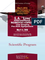 LA Live Pre AUA Program