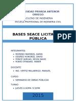 Bases de Licitacion Publica