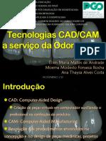 Apresentação sobre CAD e CAM