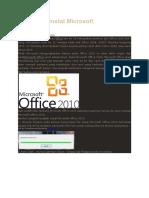 Cara Menginstal Microsoft Office