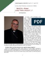 malta vescovo