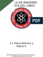 UACH Fisica en La Odontologia 3 1 Fisica Atomica y Rayos X