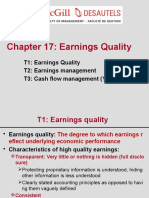 Earnings Quality slides FSA