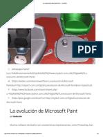 La evolución de Microsoft Paint