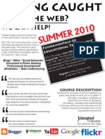 Edu 255 Flyer Summer 2010