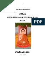 RETIRO DE MEDITAÇÃO wesak