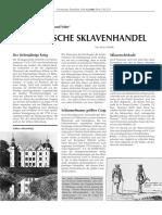 Schimmelmann und Sohn. Sklavenhandel Dreieckshandel