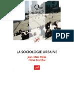 La Sociologie Urbaine Stebe Jean Marc Marchal Herve 1
