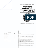 AK-47 - Operator's Manual
