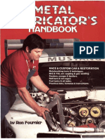 Race&Custom Car Metal Fabricator's Handbook-ron Fournier Sheet Metalwork Forming q2