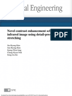 Novel Contrast Enhancement Scheme for Infrared Image Using Detail-preserving Stretching