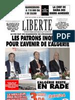 LIBERTE Du Mercredi 14 Avril 2010