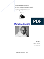 Trabajo de Gandhi