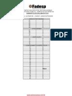 Gabarito Oficial Definitivo do concurso da prefeitura de parauapebas 2015