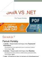 Java vs Net