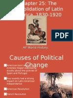 Chapter 25 19th Century Latin America