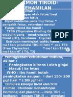 Hormon Tiroid dalam Kehamilan