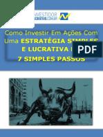 eBook Investidor Lucrativo 7 Simples Passos(1)