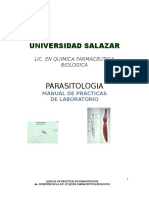 Manual Parasitologia i