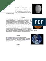 Los planetas ilustrados