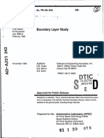 Boundary Layer Study