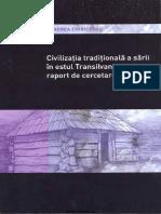 Andreea Chiricescu Civilizatia Traditionala Sarii in Sud Estul Transilvaniei 2013