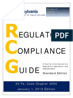 Regulatory Compliance Guide Chaper 3800