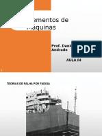 Elementos de Máquinas Prof Daniel - Aula 04