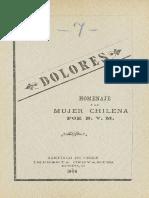 Dolores. Homenaje a La Mujer Chilena. (1904)