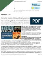 Narrativas Transmediáticas, Interactividad, Mashup y Edupunk _ Debates _ Educación y TIC _ Educ.ar