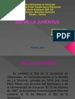 Diapositivas día de la JUVENTUD YANEIRA